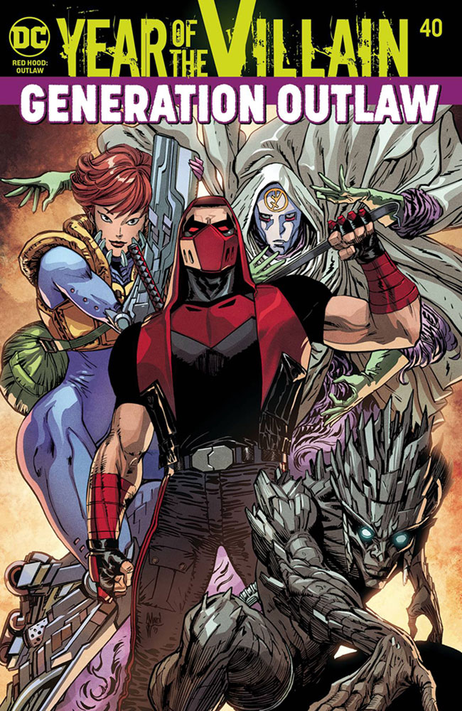 Red Hood: Outlaw #40 (YotV) (Acetate cover)  [2019] - DC Comics
