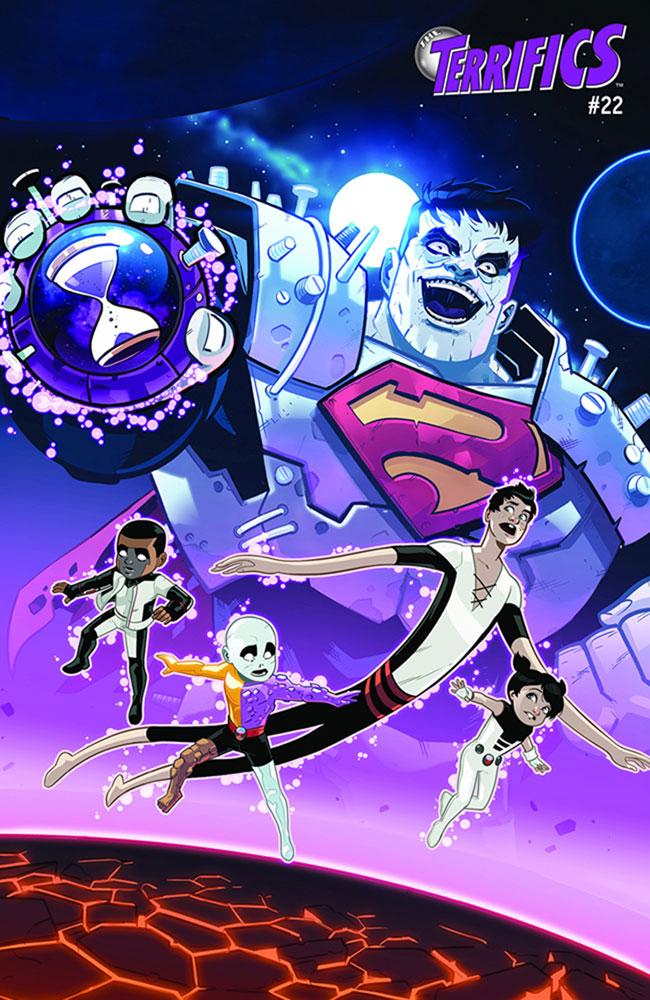 Terrifics #22 (YotV) (Acetate cover)  [2019] - DC Comics