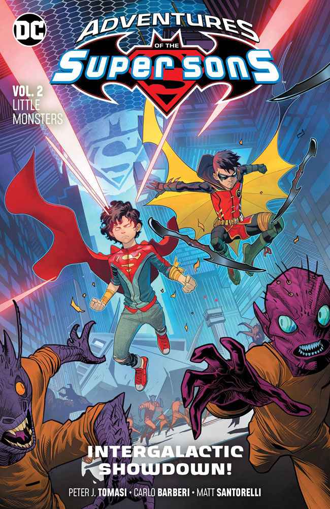 Image: Adventures of the Super Sons Vol. 02: Little Monsters SC  - DC Comics