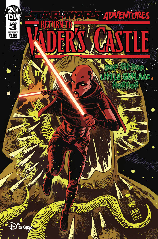 Image: Star Wars Adventures: Return to Vader's Castle #3 (cover A - Francavilla) - IDW Publishing