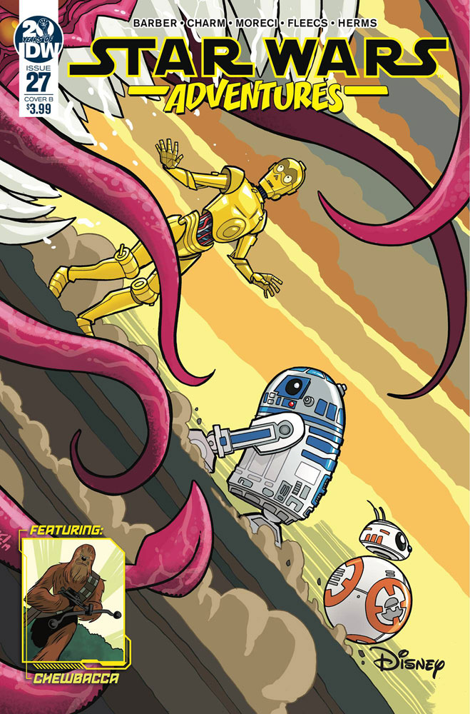 Image: Star Wars Adventures #27 (cover B - Fleecs) - IDW Publishing