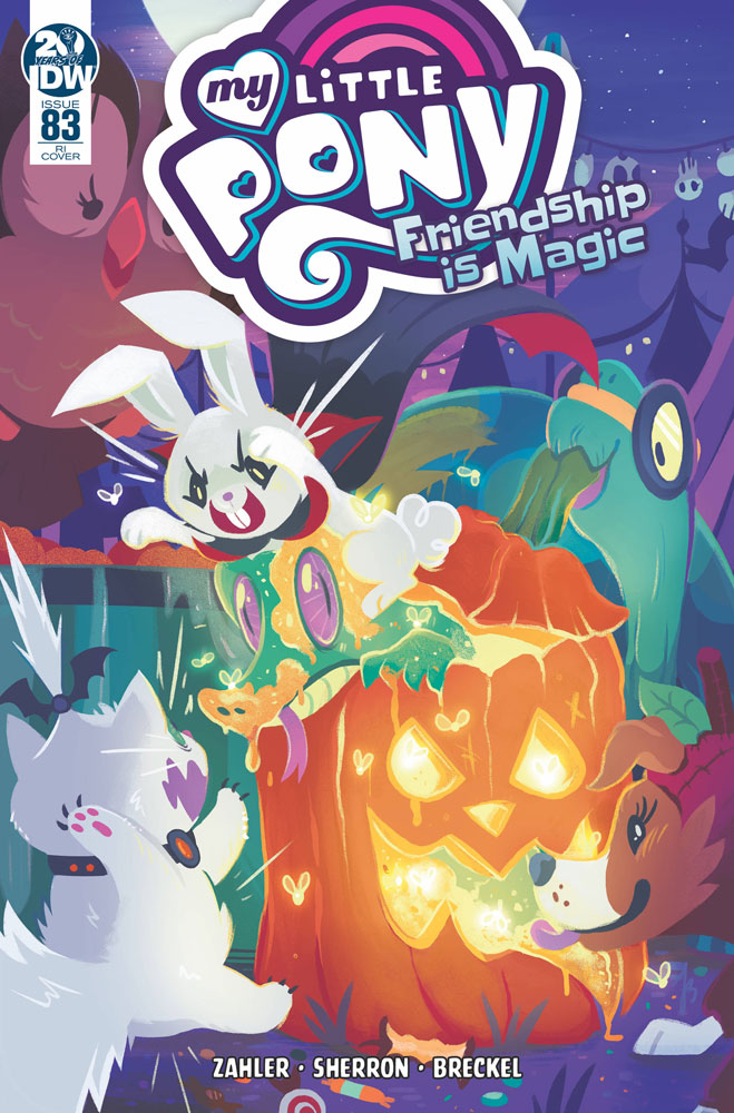 Image: My Little Pony: Friendship Is Magic #83 (incentive 1:10 cover - Justasuta)  [2019] - IDW Publishing