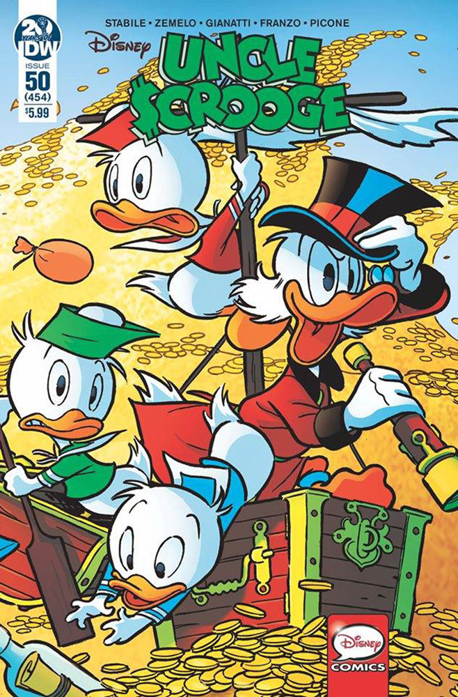 Image: Uncle Scrooge #50 (cover A - Freccero) - IDW Publishing