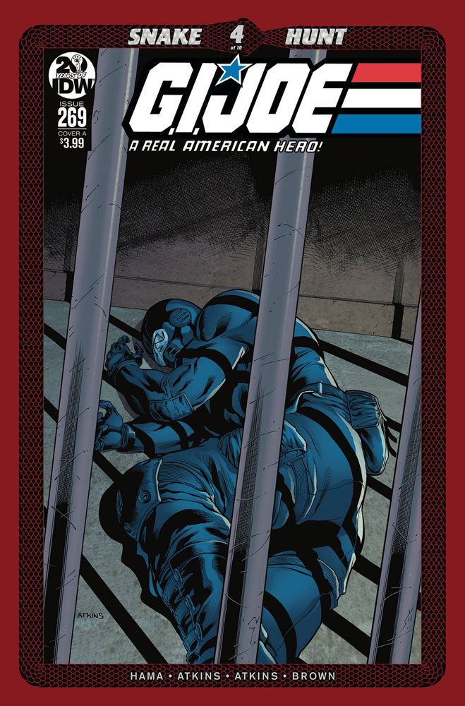 Image: G.I. Joe: A Real American Hero #269 (cover A - Atkins) - IDW Publishing