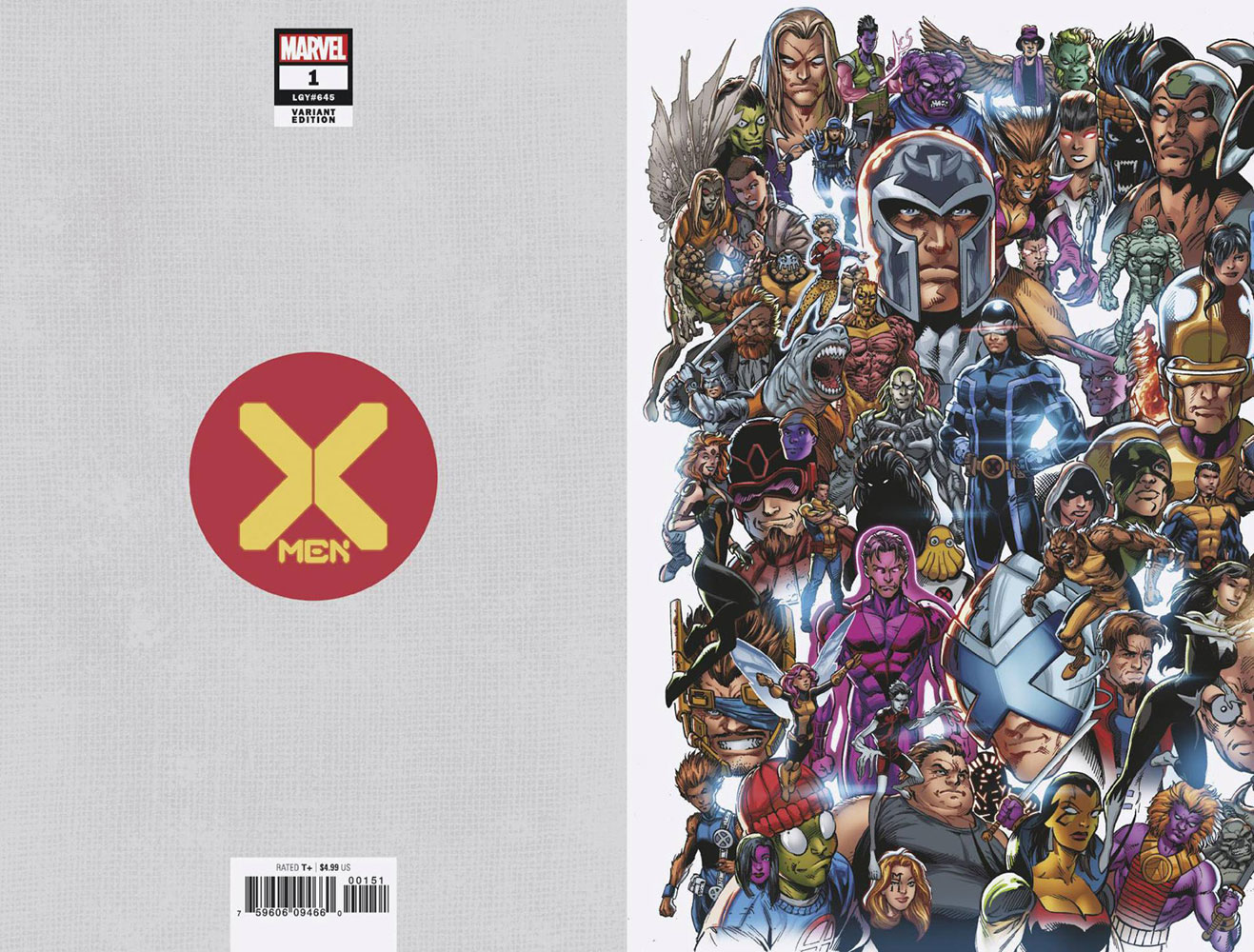 X-Men #1 (variant Every Mutant Ever cover - Bagley) - Marvel Comics