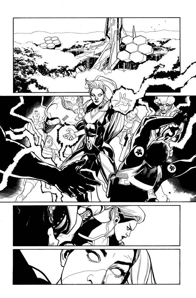 X-Men #1 (incentive 1:100 Hidden Gem cover - Bachalo) - Marvel Comics