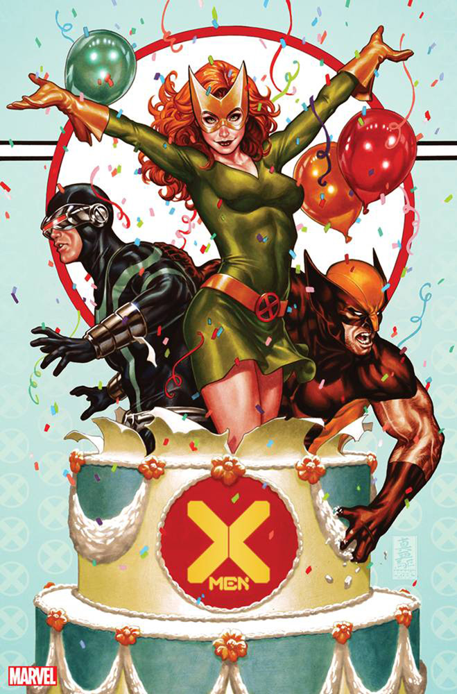 Image: X-Men #1 (Party variant cover - Brooks)  [2019] - Marvel Comics