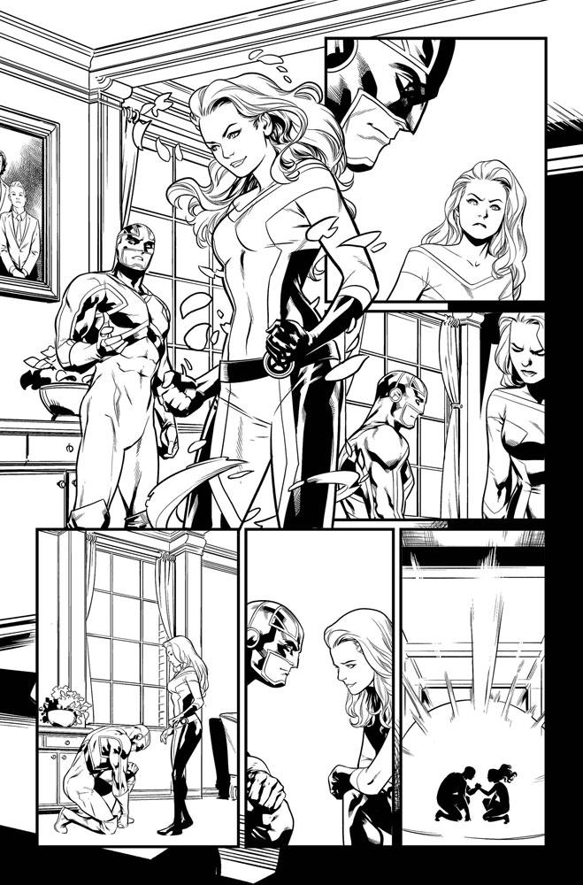 Excalibur #1 (incentive 1:25 cover - Anka)  [2019] - Marvel Comics