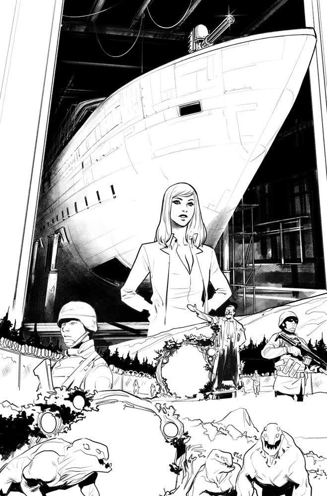 Marauders #1 (incentive 1:50 cover - Artist) - Marvel Comics