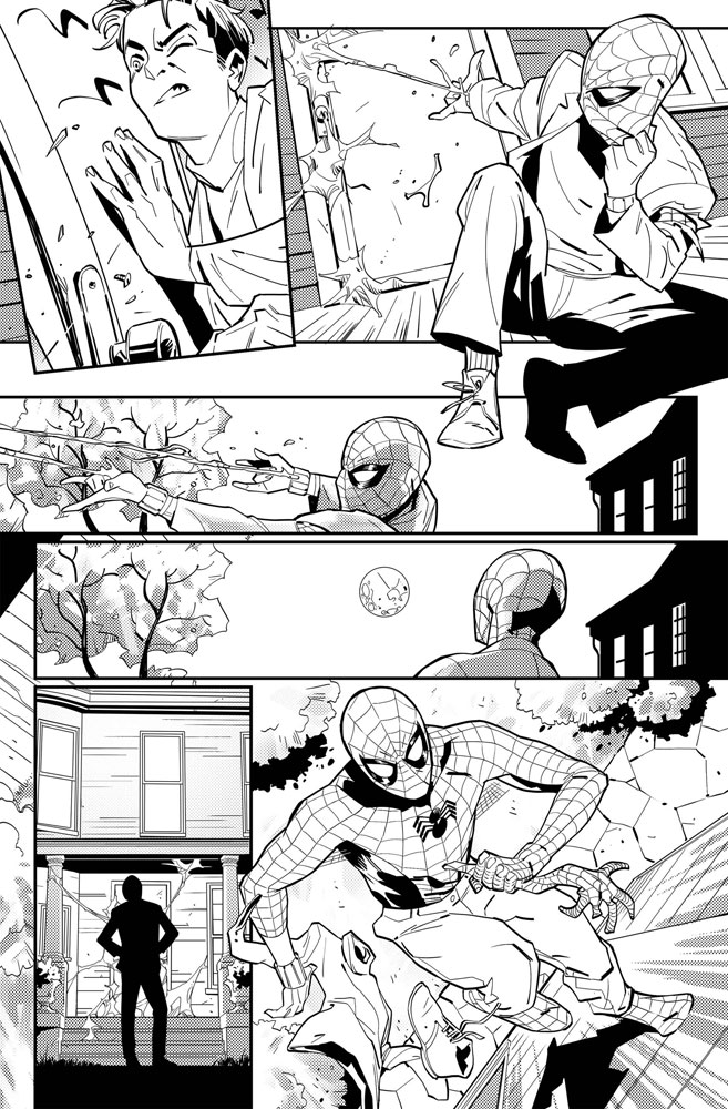Amazing Spider-Man: Full Circle #1 (incentive 1:25 cover - Smallwood)  [2019] - Marvel Comics