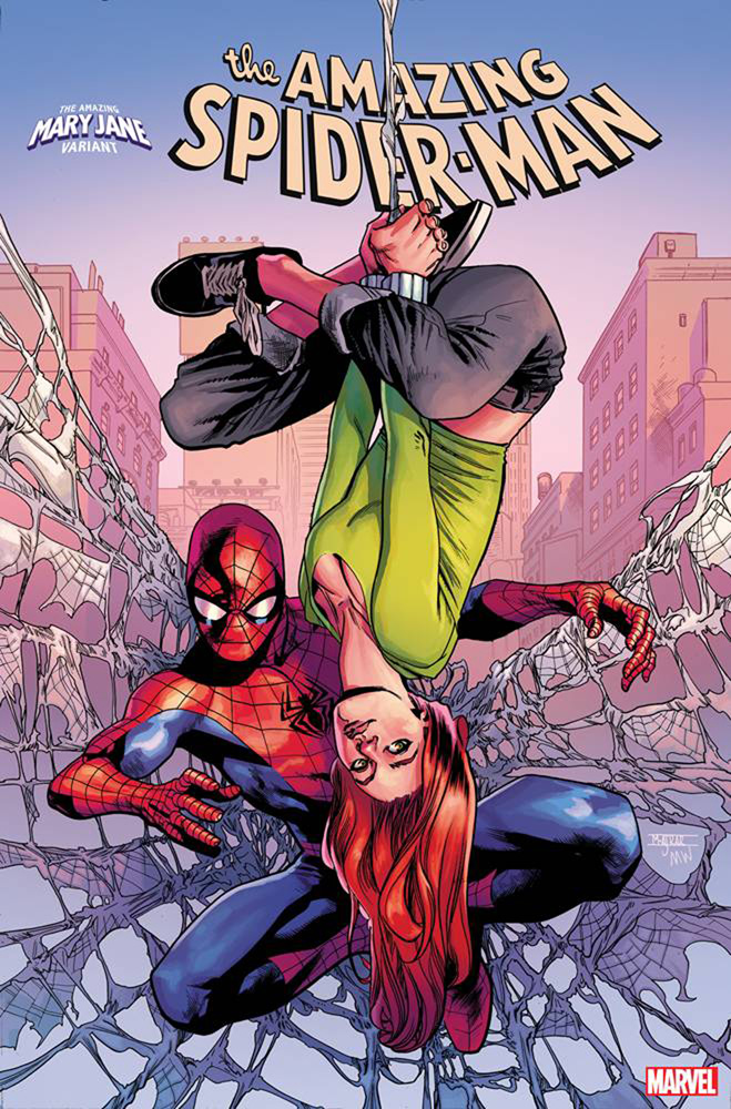 Image: Amazing Spider-Man #32 (variant Mary Jane cover - Asrar)  [2019] - Marvel Comics