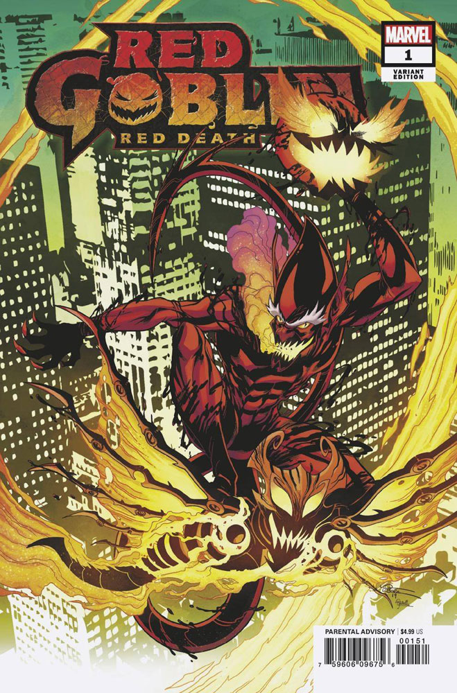 Image: Red Goblin: Red Death #1 (variant cover - Lubera) - Marvel Comics