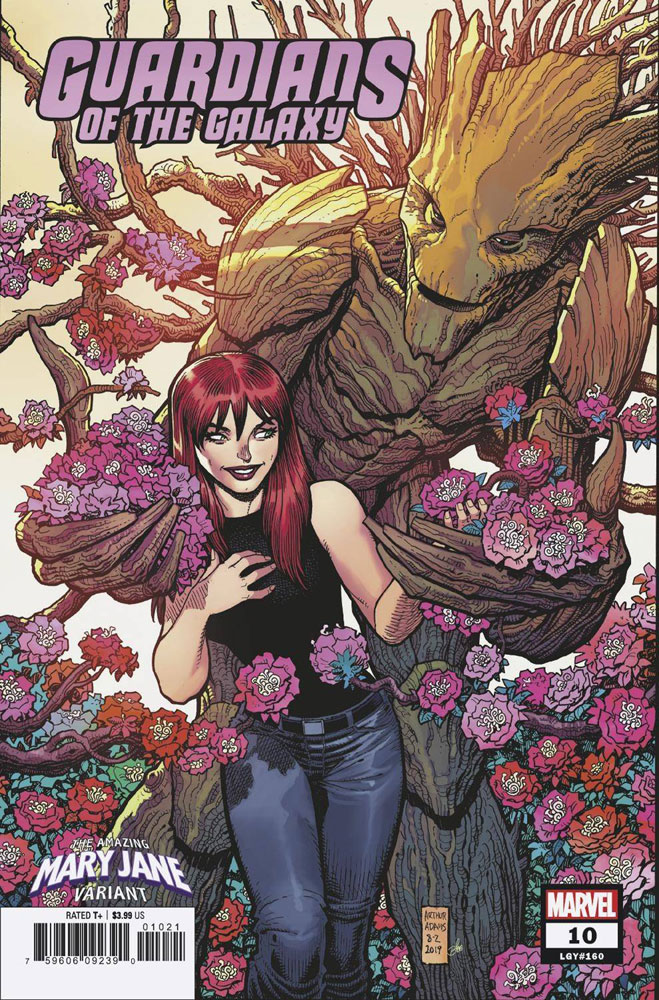 Image: Guardians of the Galaxy #10 (variant Mary Jane cover - Adams) - Marvel Comics