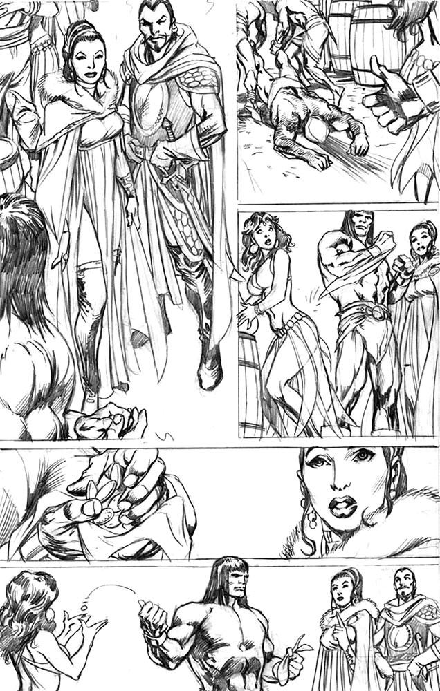 Savage Sword of Conan #10 (incentive 1:25 cover - McCrea)  [2019] - Marvel Comics