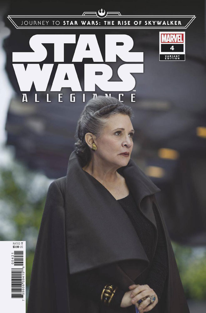 Journey To Star Wars The Rise Of Skywalker Allegiance 4 Incentive 1 10 Movie Cover 2019 Westfield Comics