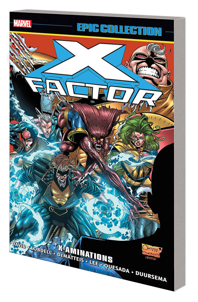 Image: X-Factor Epic Collection: X-Aminations SC  - Marvel Comics