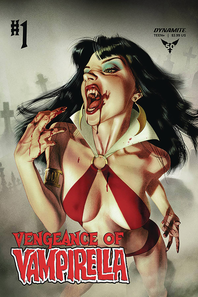 Vengeance of Vampirella # 1 Joshua Middleton cover