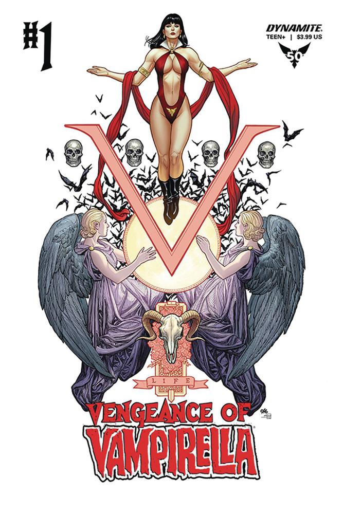 Vengeance of Vampirella #1 Frank Cho cover