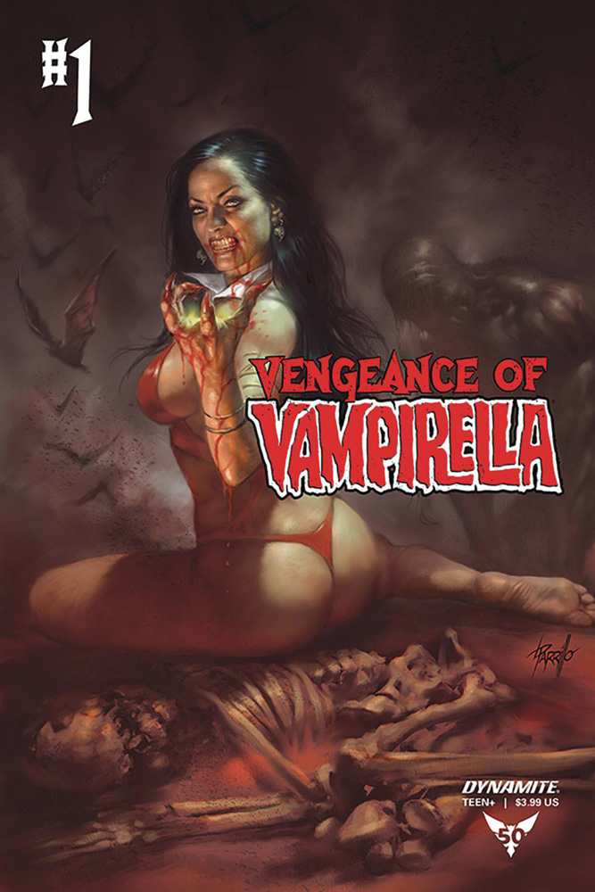 Image: Vengeance of Vampirella Vol. 02 #1 (cover D - Parrillo)  [2019] - Dynamite