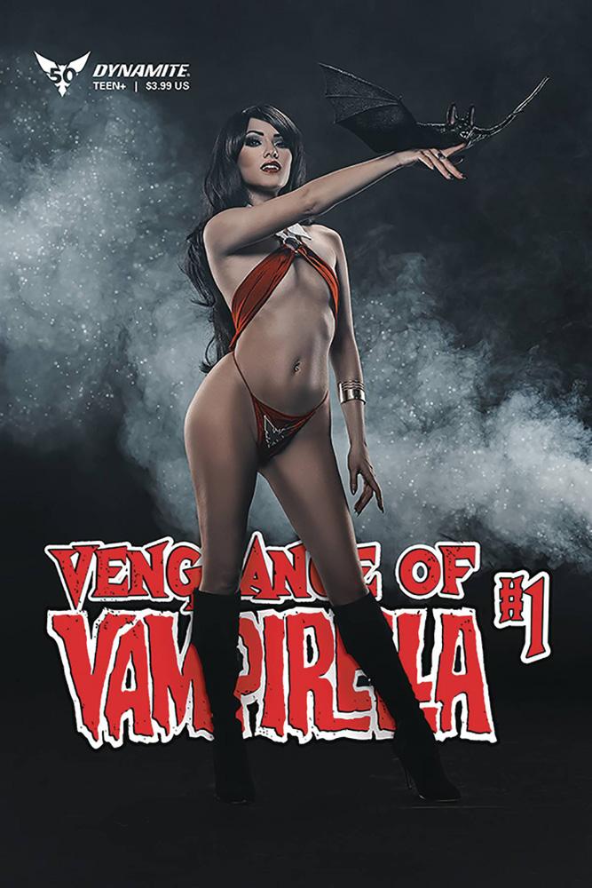 Vengeance of Vampirella #1 Cosplay cover
