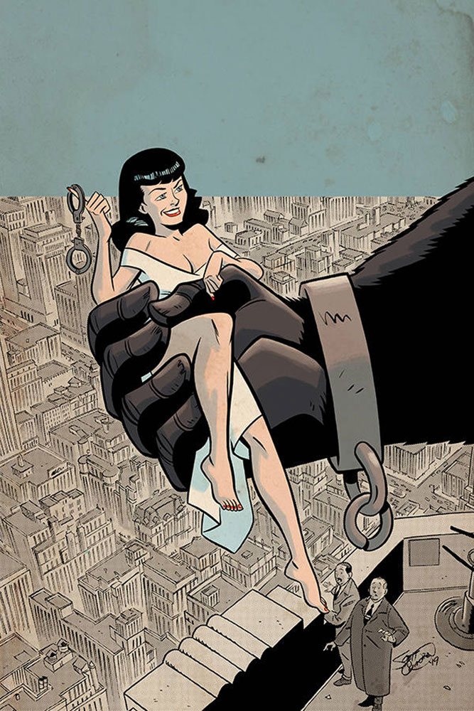 Image: Bettie Page: Unbound Vol. 03 #7 (incentive 1:30 cover - Chantler virgin)  [2019] - Dynamite