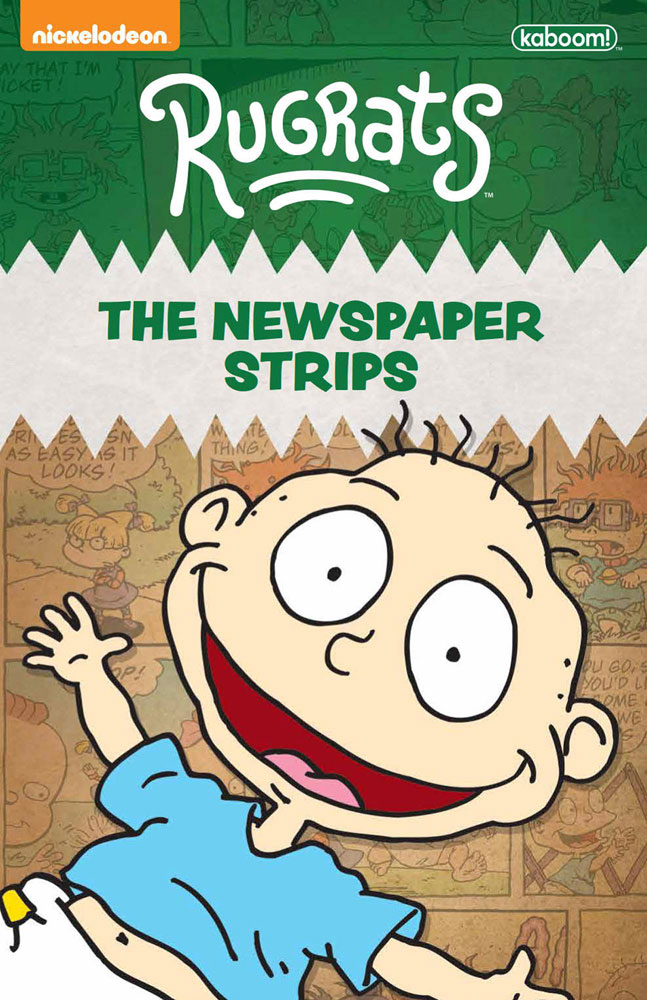 Image: Rugrats Complete Newspaper Strips SC  - Boom! - KaBOOM!
