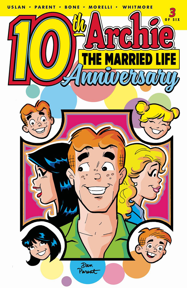 Image: Archie: The Married Life - 10th Anniversary #3 (cover A - Parent) - Archie Comic Publications