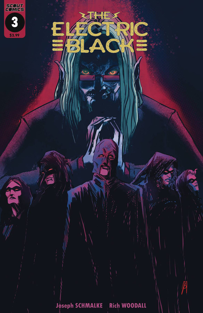 Image: Electric Black #3  [2019] - Scout Comics