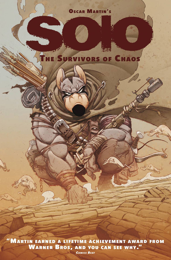 Image: Oscar Martin's Solo: The Survivors of Chaos HC  - Titan Comics
