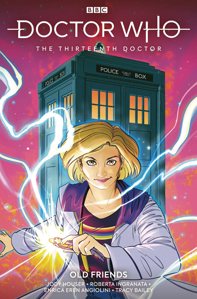 Image: Doctor Who: The Thirteenth Doctor Vol. 03: Old Friends SC  - Titan Comics