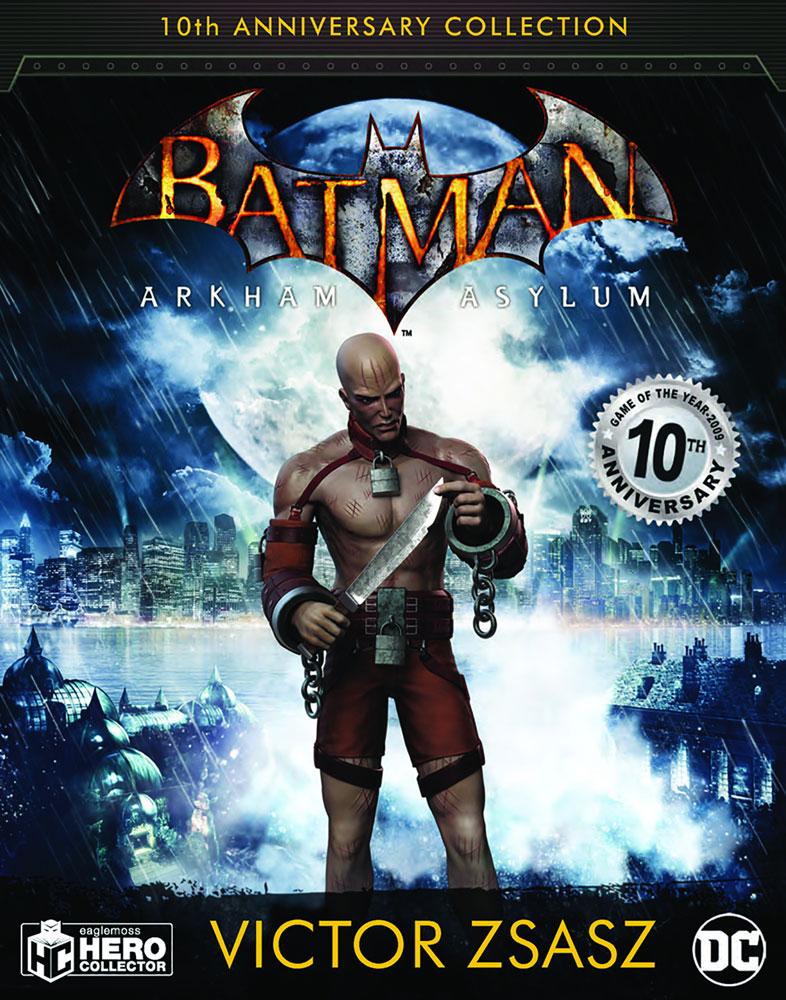 DC Batman Arkham Asylum Figure Collectible #6 (Zsasz) - Eaglemoss Publications Ltd