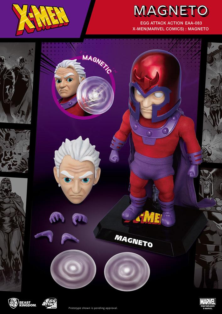 X-Men Action Figure: EAA-083 Magneto  - Beast Kingdom Co., Ltd