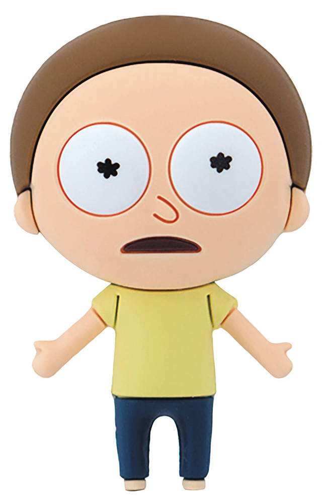 Image: Rick and Morty 3D Foam Magnet: Morty  - Monogram Products