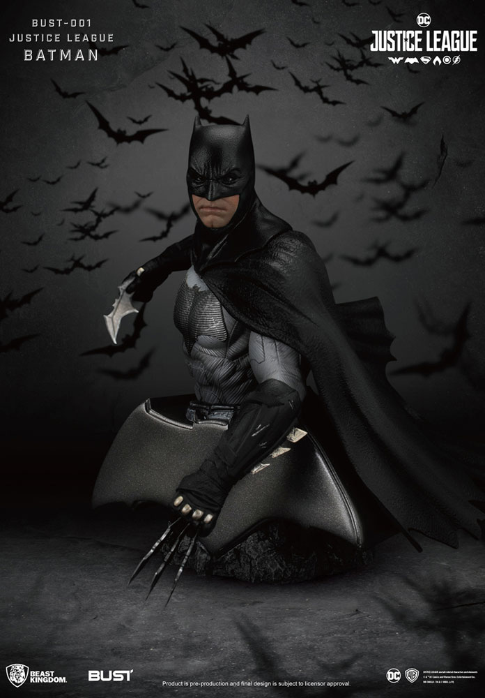 Justice League PX PVC Bust Series: Batman  - Beast Kingdom Co., Ltd