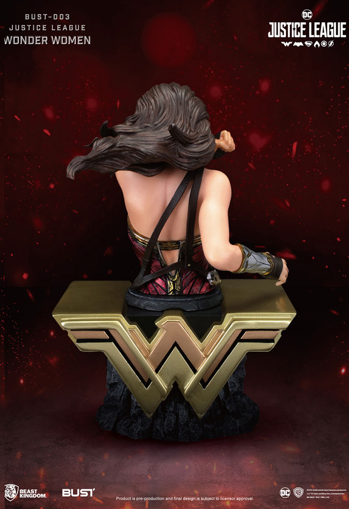 Justice League PX PVC Bust Series: Wonder Woman  - Beast Kingdom Co., Ltd