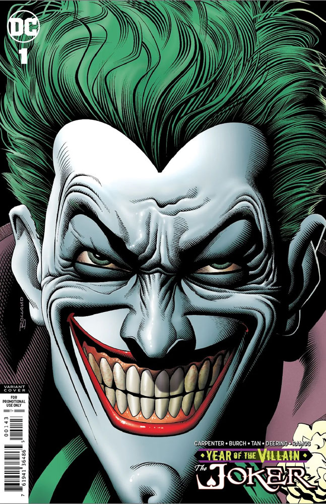 Image: Joker: Year of the Villain #1 (variant cover - Brian Bolland)  [2019] - DC Comics
