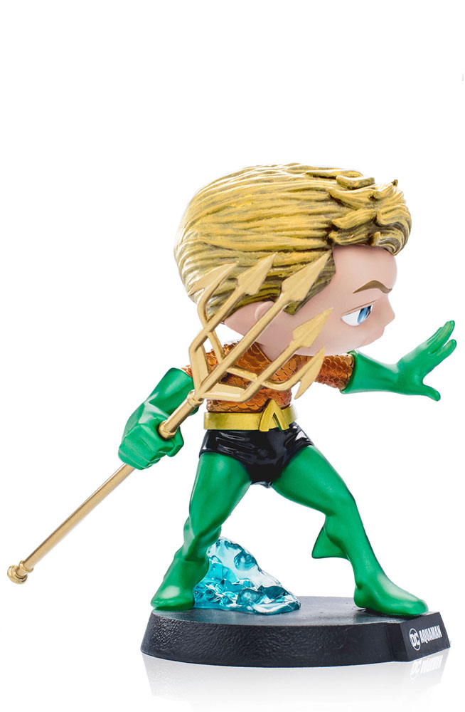 Mini Co. Heroes DC Comics Vinyl Statue: Aquaman  - Iron Studios