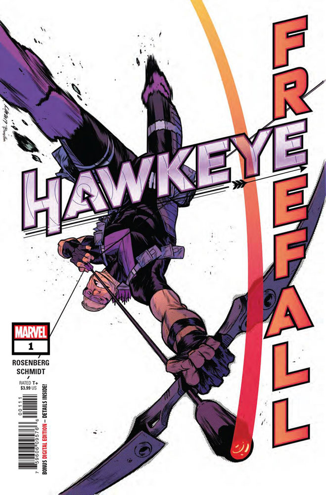Hawkeye Freefall #1