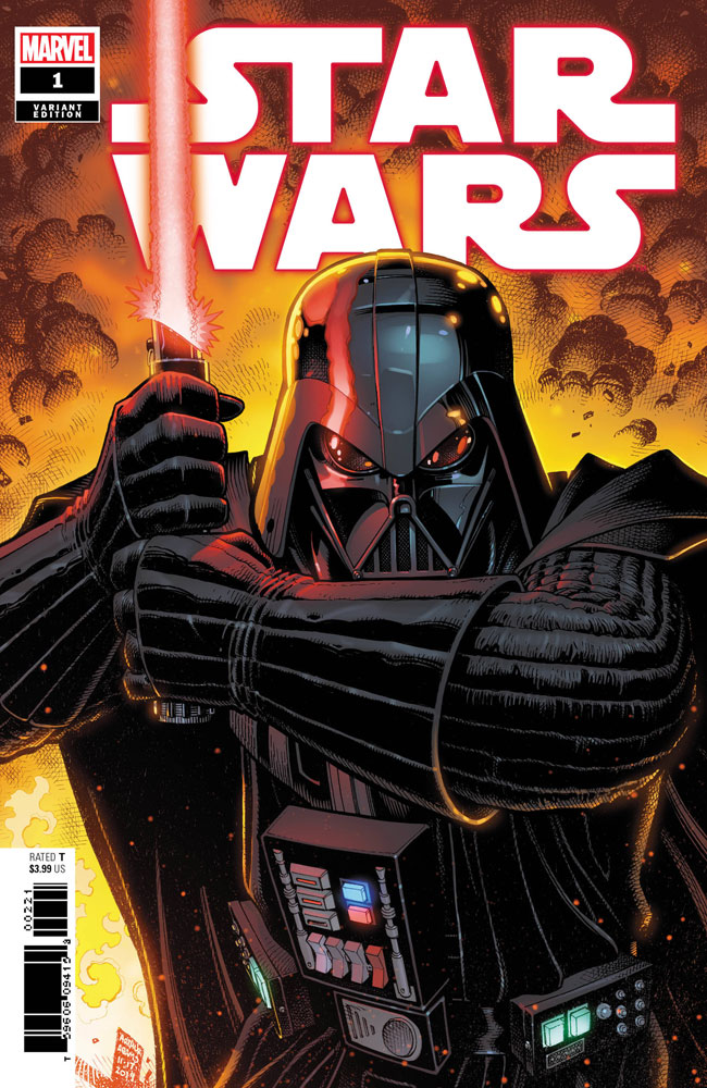Image: Star Wars #1 (incentive 1:25 cover - Art Adams) - Marvel Comics