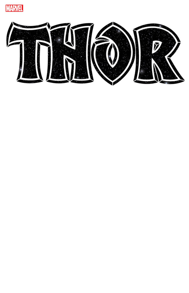 Image: Thor #1 (variant Blank cover) - Marvel Comics