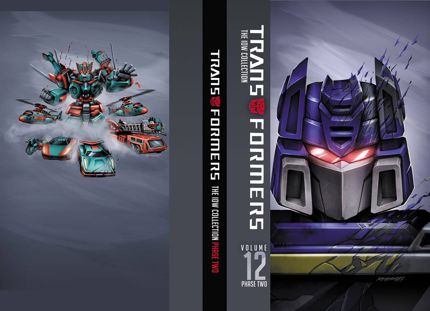 Transformers IDW Collection Phase 2 Vol. 12 HC  - IDW Publishing