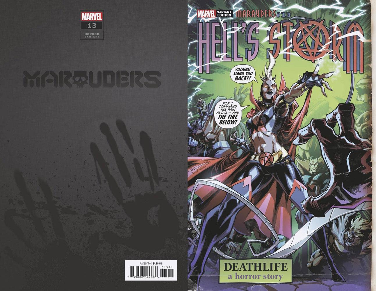Marauders #13 (variant Hell's Storm cover - Randolph)  [2020] - Marvel Comics