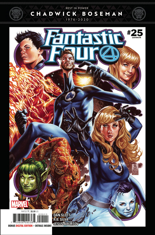 Image: Fantastic Four #25  [2020] - Marvel Comics