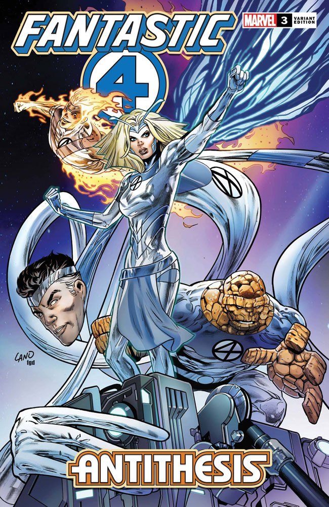 Image: Fantastic Four: Antithesis #3 (incentive 1:50 cover - Land)  [2020] - Marvel Comics