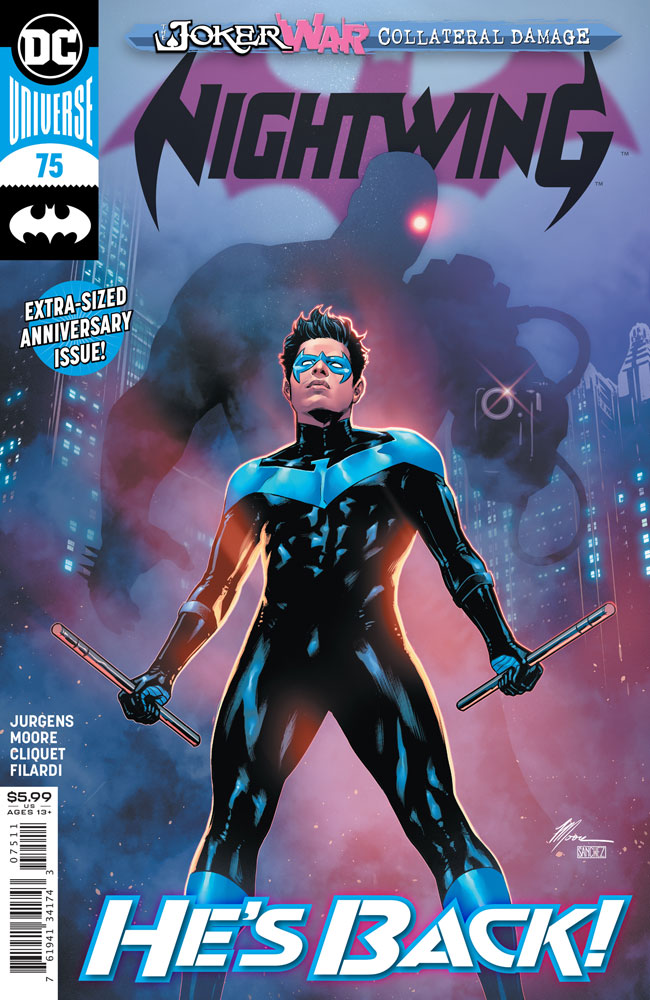 Image: Nightwing #75  [2020] - DC Comics
