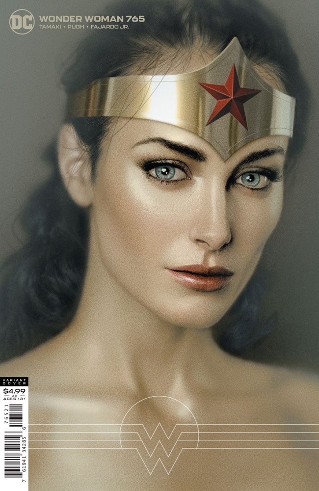 Image: Wonder Woman #765 (variant card stock cover - Joshua Middleton) - DC Comics
