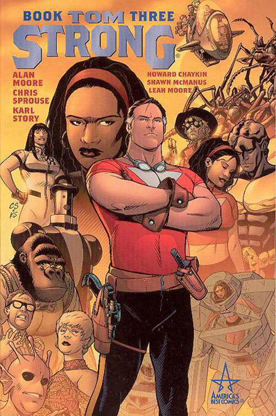 Image: Tom Strong Book Three SC  - DC Comics