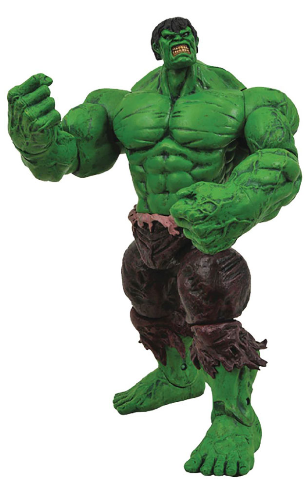 Image: Marvel Select Action Figure: The Incredible Hulk  -