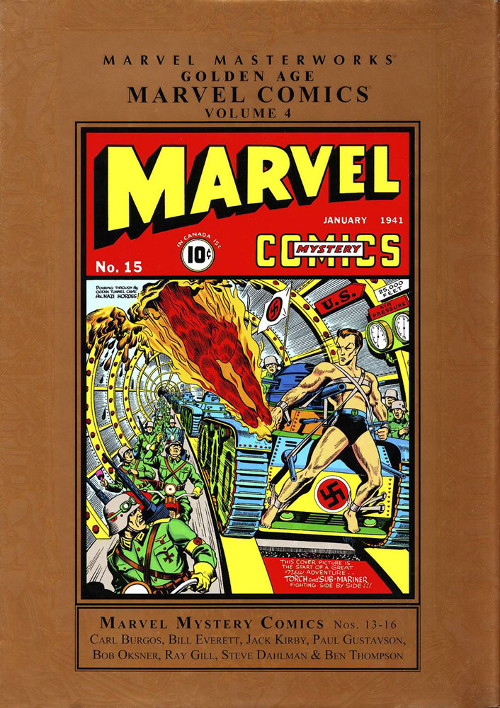 Image: Marvel Masterworks: Golden Age Marvel Comics Vol. 04 HC  - Marvel Comics