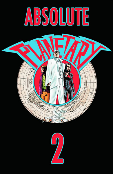 Image: Absolute Planetary Book 02 HC  - DC Comics - Wildstorm